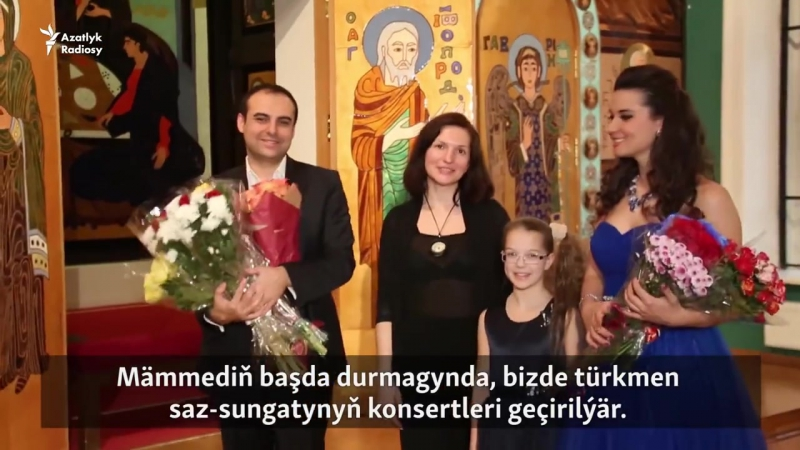 Moskwada türkmen kompozitorynyň döredijilik agşamy geçdi