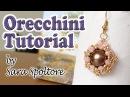 Tutorial orecchini con perline Come fare orecchini fai da te con perline Orecchini facili