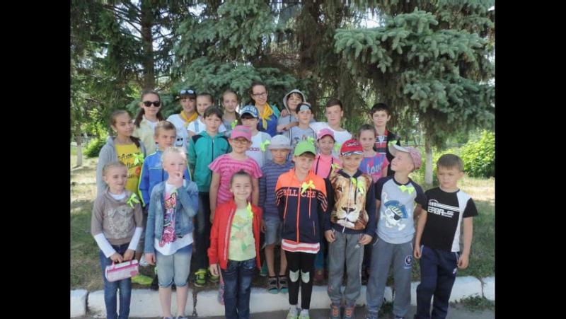 Отряд Цветочкины лагерь дневного пребывания Факел при МБОУ Новоомская СОШ
