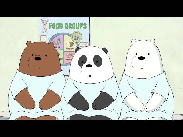 Мы обычные медведи We Bare Bears Диета