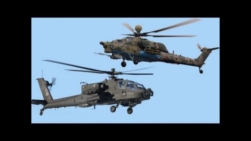 Ми 28Н Ночной охотник против АН 64 Апач Mi 28N Night Hunter against the AH 64 Apache