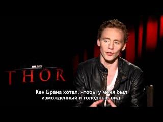 2011. Tom Hiddleston - Interview (RUS SUBS)