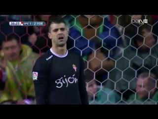Sporting gijon 1-3 barcelona