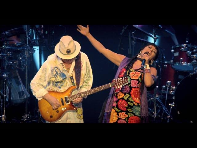 Santana's Una Noche en Napoles ft. Lilla Downs, Soledad and Niña.