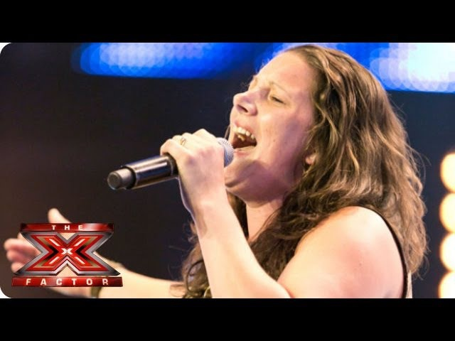 Sam Bailey sings Who's Loving You by The Jacksons Arena Auditions Week 1 The X Factor 2013
