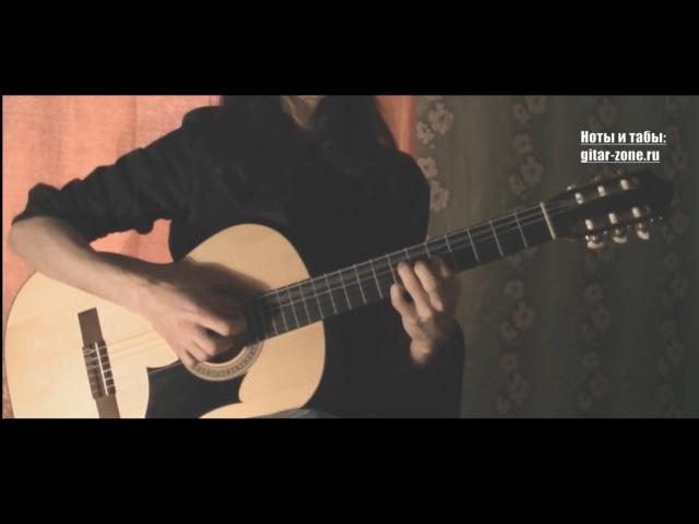 Кино Стук │ Переложение для гитары табы