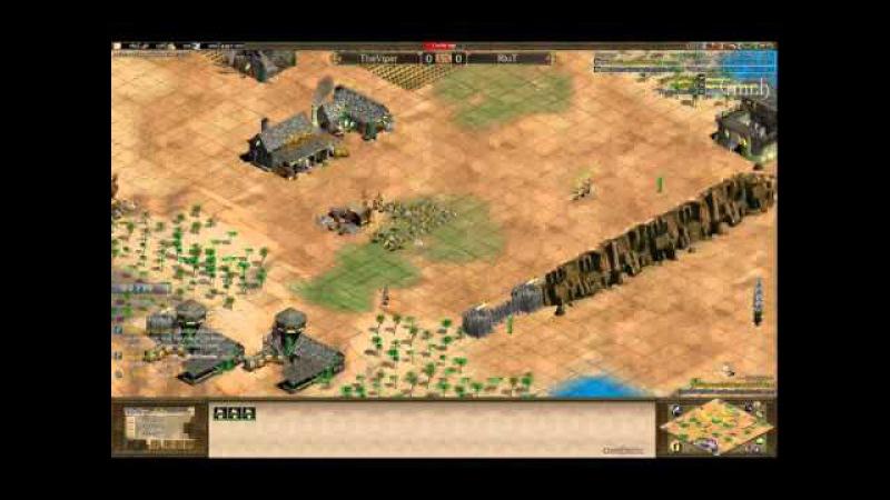 Arabia 1v1 QF TheViper huns vs huns RiuT Game 1 Part 2 by Vinch