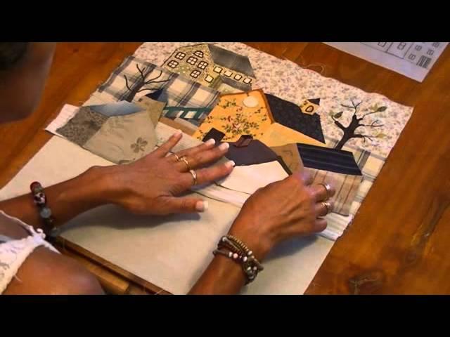 Quilt mystère YOKO SAITO bloc 5 1 1