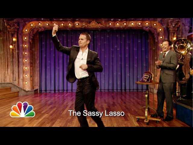 Improv Dance with Sam Rockwell and Jimmy Fallon (Late Night with Jimmy Fallon)