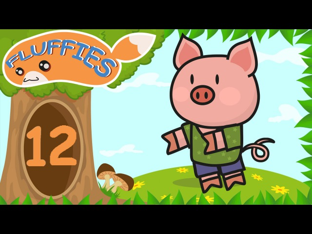 Cartoon for kids. Pig, Cat, Lemur and Crocodile. Funny Animals on the raft. Season 1. Episode 12