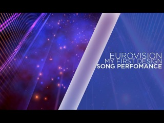 my first Eurovision design | Song perfomance