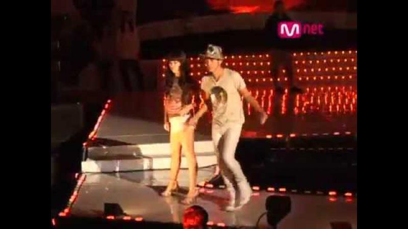 2008 Mnet 20's choice Jang Geun Suk dance rehearsal