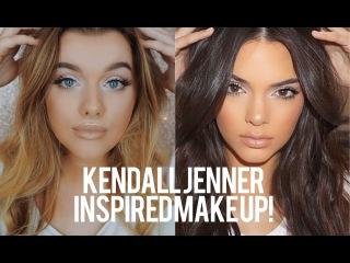 МАКИЯЖ В СТИЛЕ КЕНДАЛЛ ДЖЕННЕР Kendall Jenner Inspired Make up! | Rachel Leary