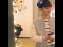Chen derella delivered a caffee to xiumin hyung^^ chenmin