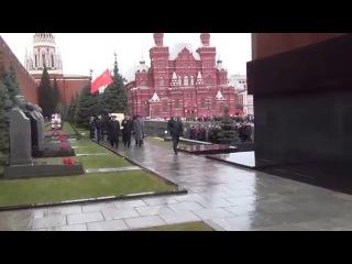 21 декабря 2015 года. Москва. В день рождения  Сталина. КПРФ. ССО.