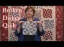 Broken Dishes Quilt Using Precut Fabrics