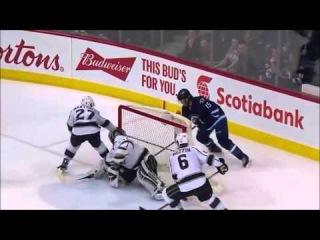 Game №74. Los Angeles Kings Vs. Winnipeg Jets 1:4 (0:0, 1:1, 0:3) - (Обзор Матча) - ()