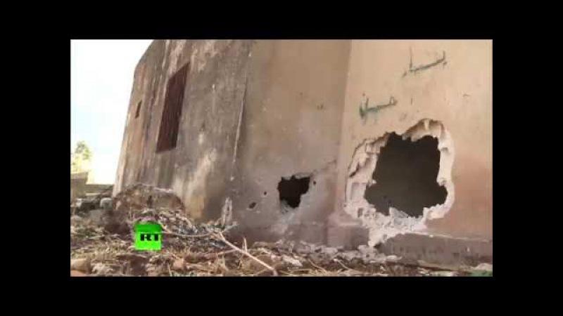 EXCLUSIF Les djihadistes reculent en Syrie, ne laissant derrière eux que cadavres et désolation