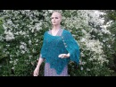 CROCHET How To Crochet Ladies Lacy Shells Shawl Wrap TUTORIAL 332
