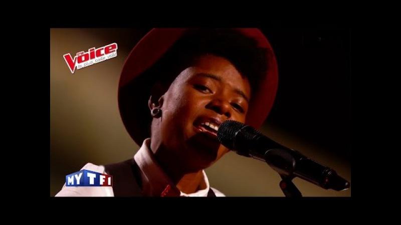 Bob Dylan Knockin on Heaven's Door Tamara Weber Fillion The Voice France 2016 Blind Audition