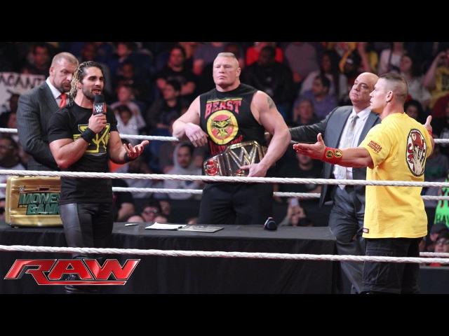 Royal Rumble WWE World Heavyweight Championship Contract Signing Raw January 12 2015