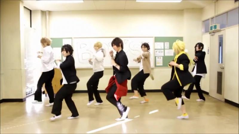 Sm28348293 刀剣乱舞 男士高校生組でGirls踊ってみた コスプレ