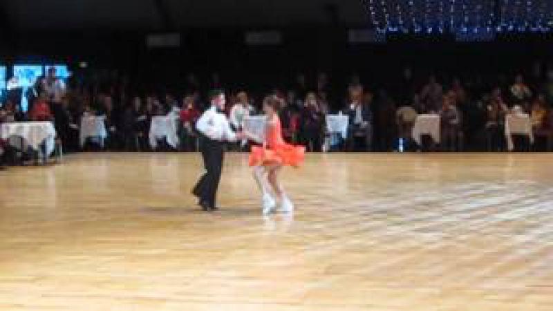 Ravlik Artur and Margita Solomija WDC AL World Championship Juvenile U12 Latin Final Paris