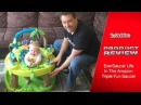 ExerSaucer Life In The Amazon Triple Fun Saucer Review