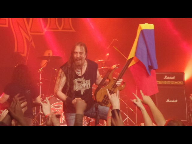 Death DTA Live from Bucharest Full Concert HD 2016