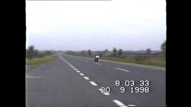 Passing at 180mph on 1998 R1