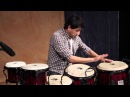 Ray Yslas on Toca Percussion Custom Deluxe Congas and Bongos