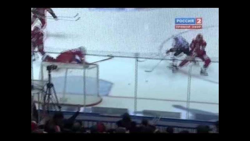 KHL. Gagarin Cup 2011. 2nd round. 5th match. Lokomotiv — Dinamo Riga 54 OT