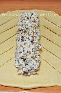 Творожная коса со сливами  Что нужно: Тесто: Мука - 300 гр., Молоко...