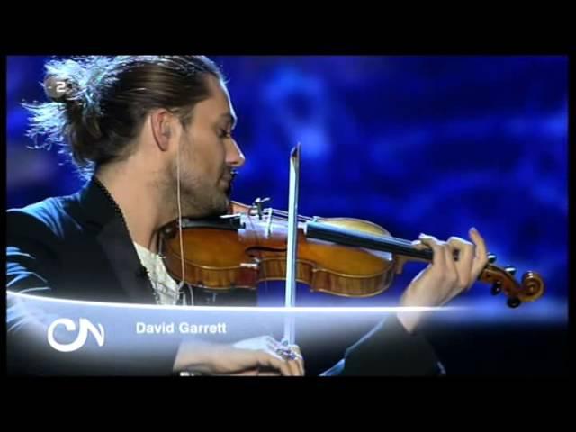 David Garrett Music was my first love by John Miles live in German TV February 16 2013