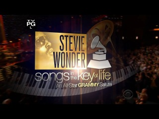 Stevie Wonder - Songs in the Key of Life An All Star (Grammy Salute 2015) @