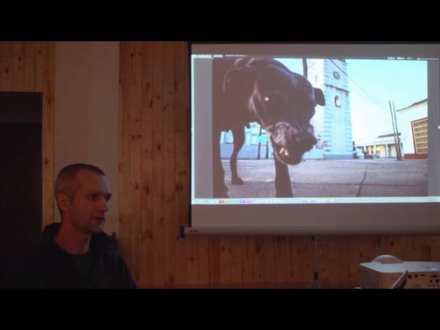 Lecture about documentary photography (Sergey Mikheev)