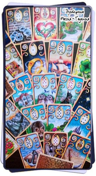 Погода в Ленорман  Колода Ленорман состоит из 36 карт,...