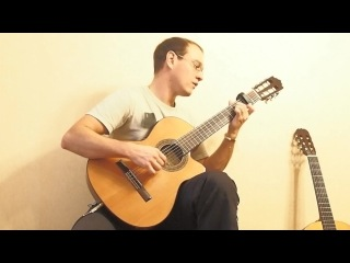 Крылатые качели на гитаре