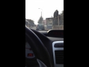 DRIVING somewhere in France Strasbourg city