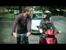 Флирт в уличном транспорте   Flirten im Straßenverkehr - Knallerfrauen mit Martina Hill [RUS SUB]