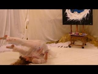 Marta Tish. Dancing Painter Show. White Dragon New Year's Eve