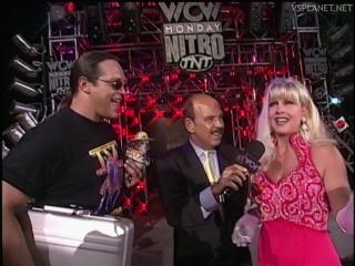 Mongo and Debra interview, WCW Monday Nitro 15.07.1996