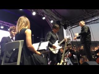 Юрий Каспарян и Симфонический оркестр Виктор Цой группа Кино