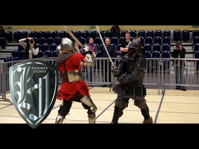Knight vs Samuraj Jarosław Jędo vs Łukasz Stecko 20 Jaworzno 2015