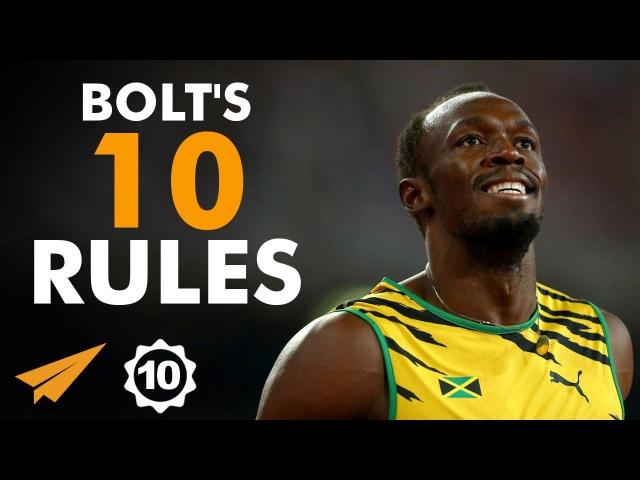 Usain Bolt's Top 10 Rules For Success (@usainbolt)