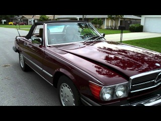 1987 Mercedes Benz 560SL for sale Formerly owned by Ivana Trump