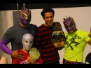 Kalisto and Sin Cara (Lucha Dragons) - Outside The Ring [Thanks for 45k subs]