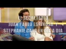 EL SECRETARIO Juan Pablo Espinosa y Stephanie Cayo en Dia a Dia