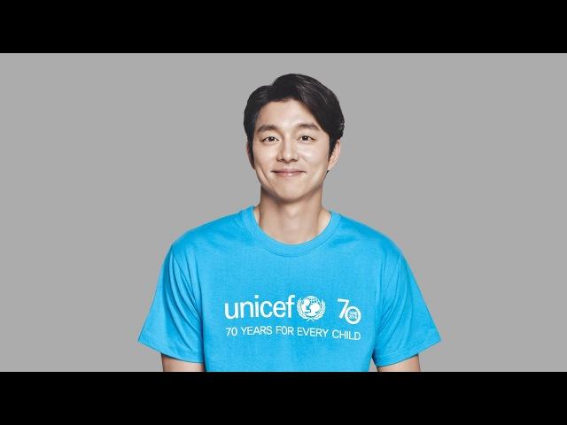 유니세프 70주년 공유 유니세프 특별대표의 유니세프 70주년 기념 메시지