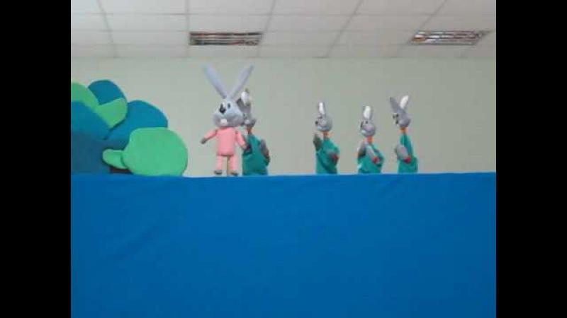 кукольный номер на песню Ой пішов я на пасіку Детский коллектив Карапузики Таврийск